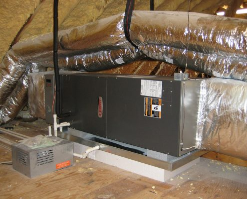 AC Install Oak Ridge