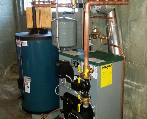 Boiler Installation Lake Hopactong