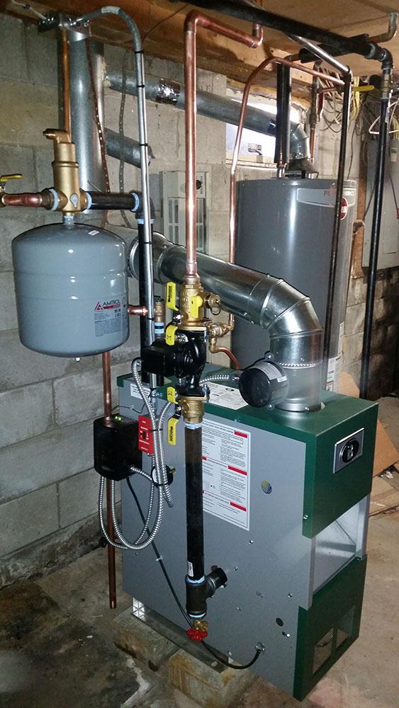 Hot Water Boiler Repair And Installation