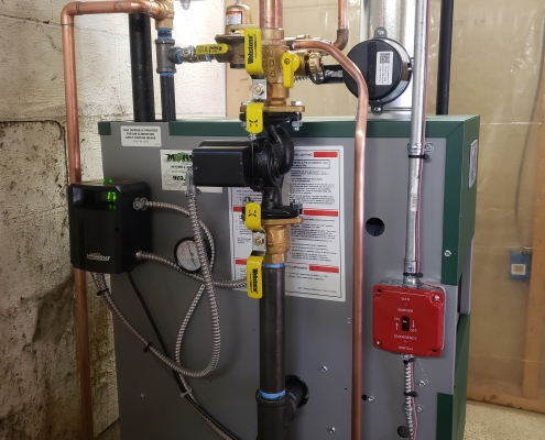 Hot Water Boiler Replacement and Installation Oak Ridge