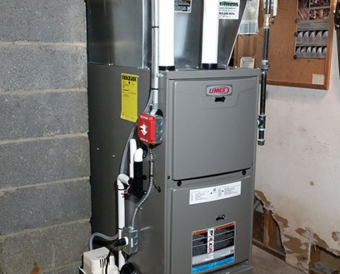 Oak Ridge Furnace Installation