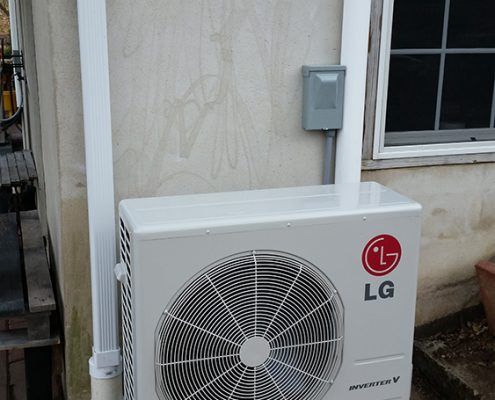 Ductless Heating Installation